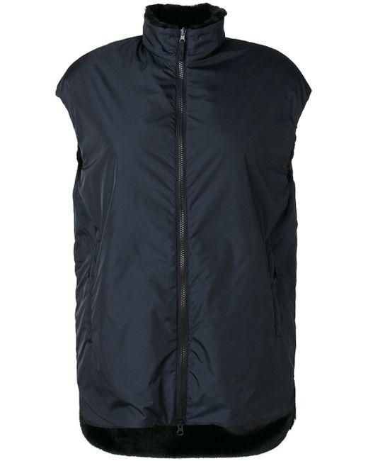 Aspesi | Blue Reversible Vest for Men | Lyst