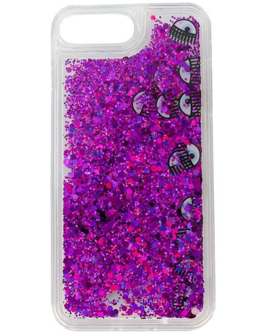 Chiara Ferragni - Multicolor Glitter Eyes Iphone Case - Lyst