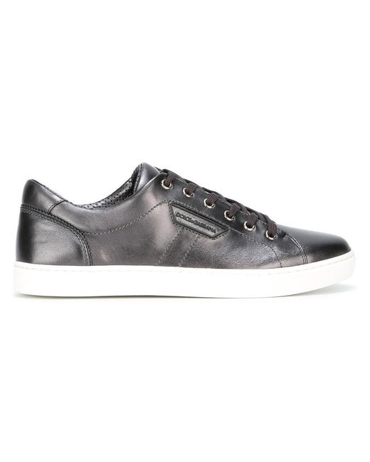 Dolce & Gabbana - Black London Sneakers for Men - Lyst