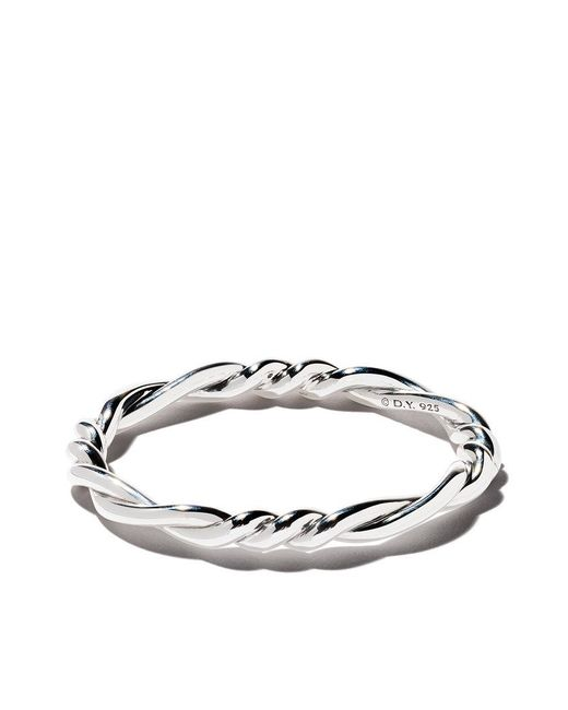 David Yurman - Multicolor Continuance Centre Twist Bangle - Lyst