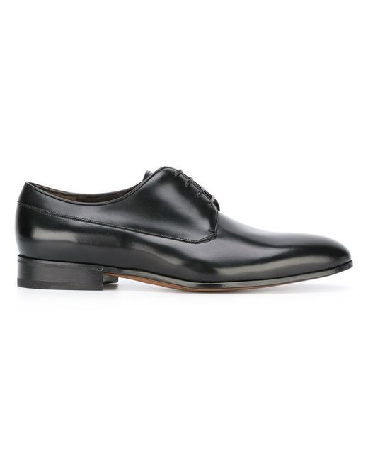 Ferragamo | Black Classic Lace-up Shoes for Men | Lyst