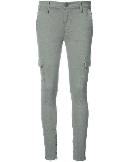 FRAME - Green Cargo Skinny Jeans - Lyst