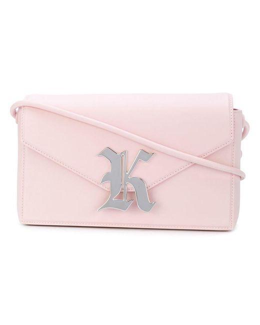 Christopher Kane - Pink Leather Shoulder Bag - Lyst