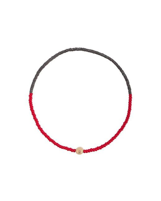 Luis Morais - Red Small All Seeing Eye Bracelet - Lyst