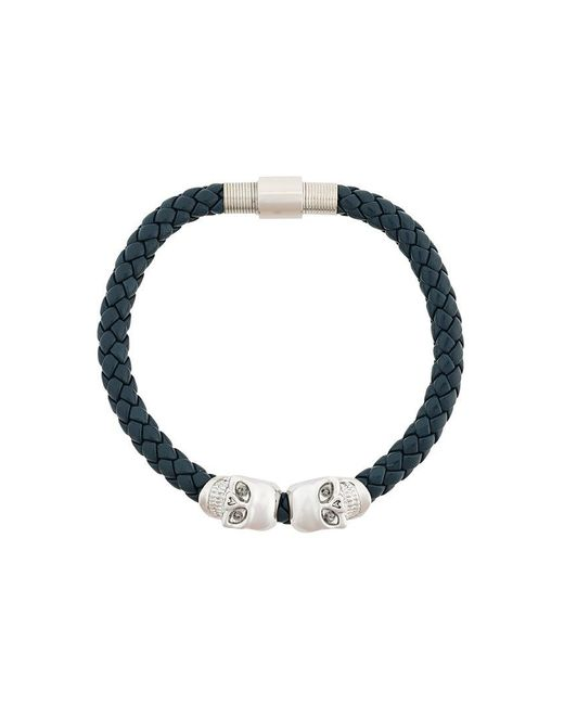 Northskull | Blue Skull Bracelet for Men | Lyst