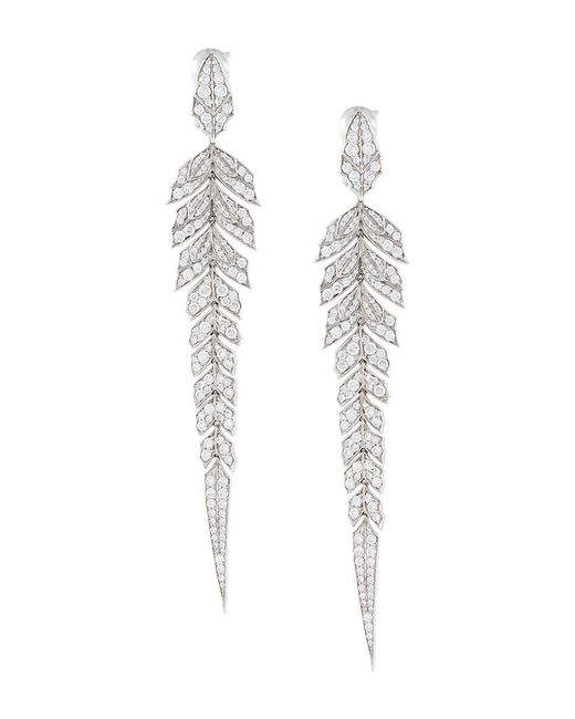 Stephen Webster - Gray Magnipheasant Diamond Earrings - Lyst