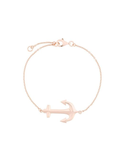 True Rocks | Metallic Anchor Bracelet | Lyst