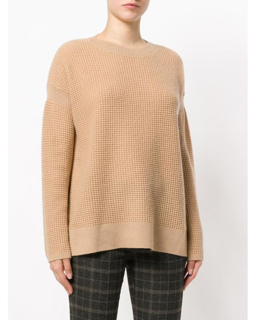 dropped shoulder cashmere jumper - Nude & Neutrals Theory Free Shipping Wide Range Of Discount Popular RX6wtS8R2T