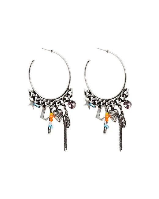 Dannijo bruni hoop earring - Metallic myxUm