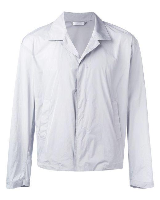 Jil Sander | Gray Short Light Jacket for Men | Lyst