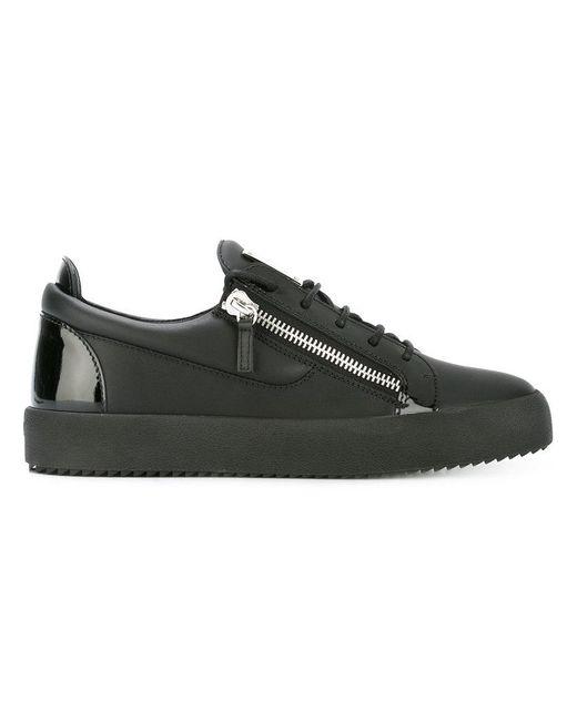 Giuseppe Zanotti | Black Nicki Sneakers | Lyst