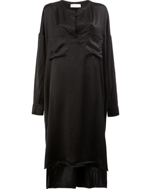 Faith Connexion - Black Chest Pocket Dress - Lyst