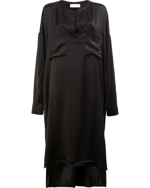 Faith Connexion | Black Chest Pocket Dress | Lyst