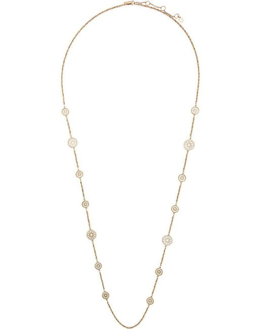 Marchesa notte - Yellow Pendant Embellished Necklace - Lyst