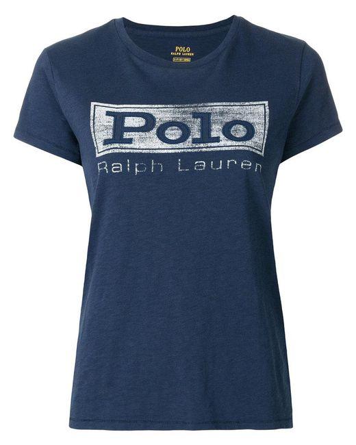 Polo Ralph Lauren - Blue Polo T-shirt - Lyst