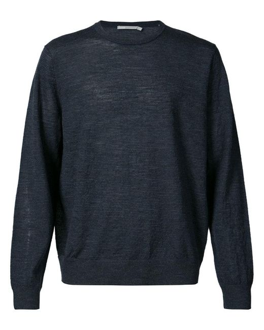 Vince - Blue Crew Neck Sweater for Men - Lyst