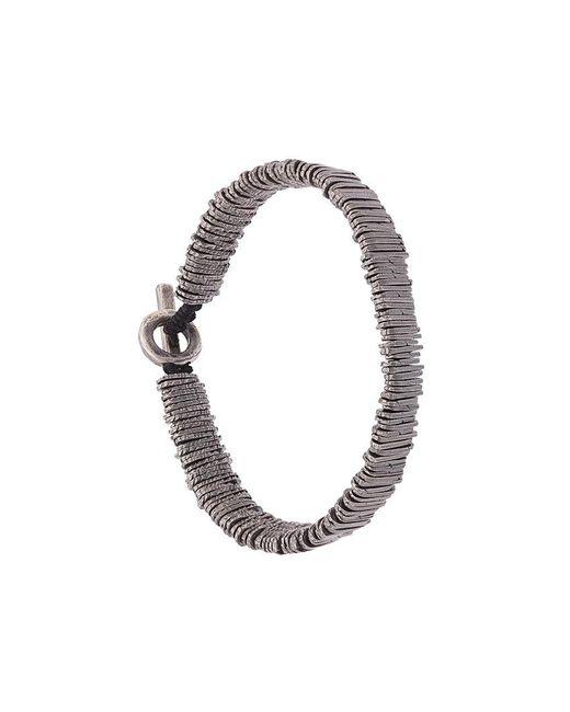 M. Cohen - Metallic Bar Beaded Bracelet for Men - Lyst