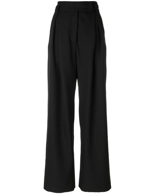 Styland - Black Super Flared Trousers - Lyst