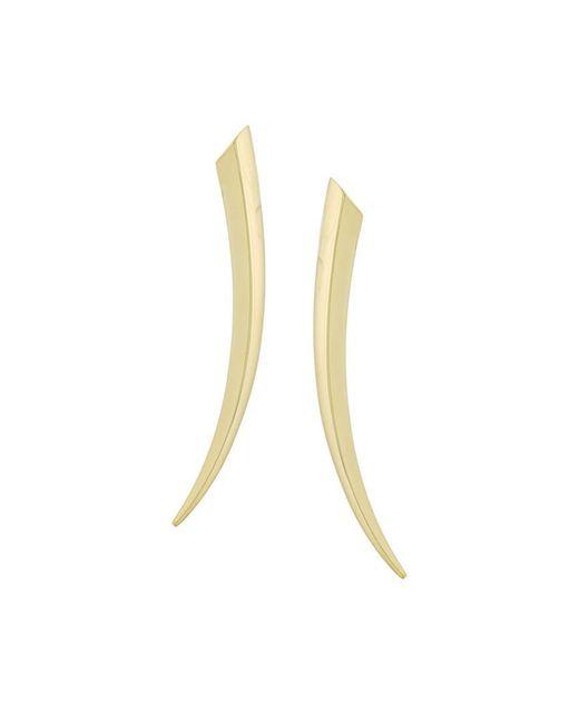 Shaun Leane - Metallic 18kt Yellow Gold 'sabre' Earrings - Lyst