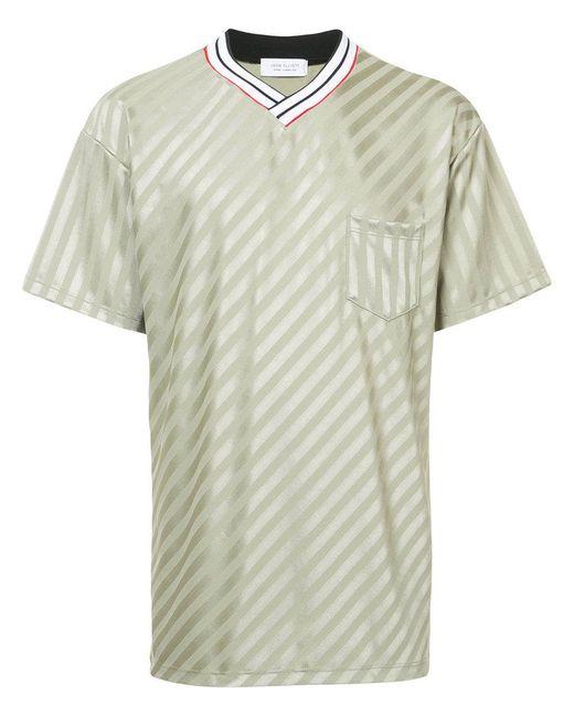 34801615e99 John Elliott - Green Soccer T-shirt for Men - Lyst ...