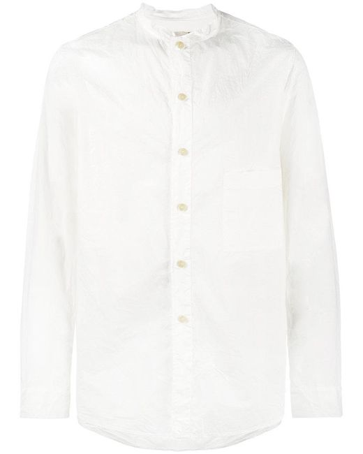By Walid - White Tarek Cotton Shirt for Men - Lyst