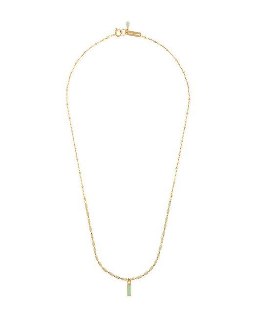 Isabel Marant - Metallic Jade Necklace - Lyst