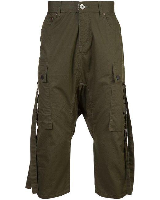 545bdbc1a8 Mostly Heard Rarely Seen - Green Pantalones capri tipo cargo for Men - Lyst  ...