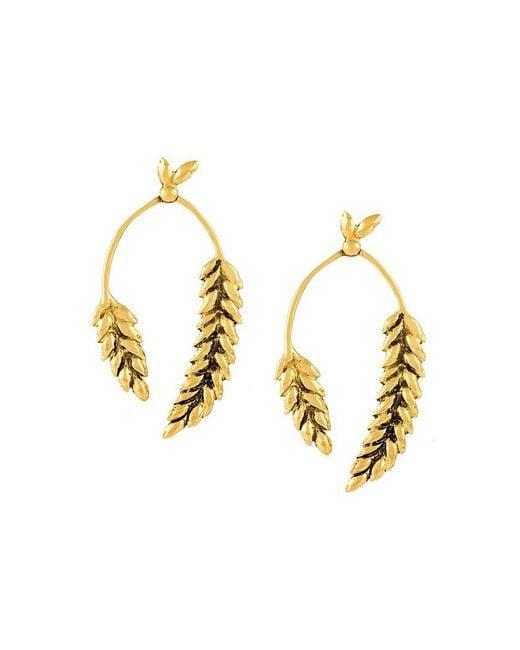Aurelie Bidermann   Metallic 'wheat' Earrings   Lyst
