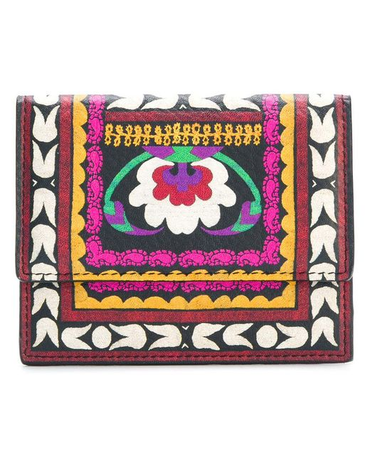 Etro | Multicolor Printed Press-stud Fastening Wallet | Lyst