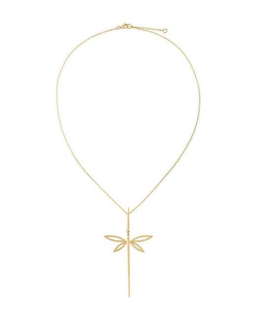 Anapsara - Metallic 'dragonfly' Necklace - Lyst