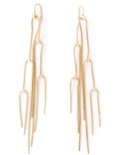 Antonio Bernardo - Metallic 'extase' Diamond Earrings - Lyst