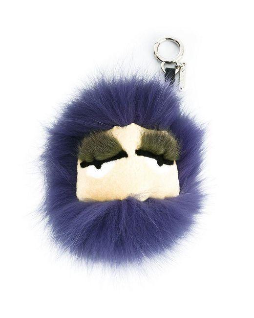 Fendi - Blue Bag Bugs Bag Charm - Lyst
