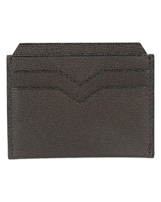 Valextra - Brown Classic Cardholder for Men - Lyst