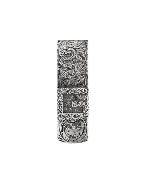 Gucci Metallic Money Clip With Square G for men