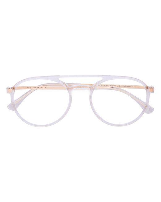 Mykita - Metallic Round Glasses - Lyst