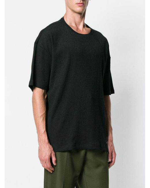 2018 Cheap Online Cheapest Price Sale Online half sleeve tee - Black Issey Miyake Outlet With Credit Card xMrzy