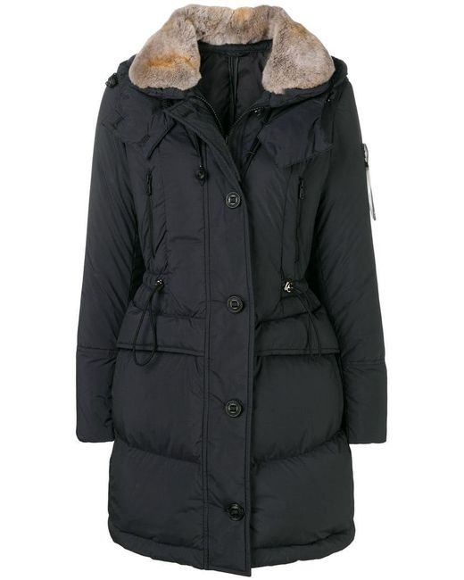 Peuterey - Blue Fur Collar Down Jacket - Lyst