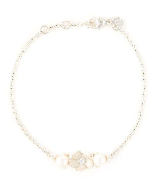 Shaun Leane - White 'cherry Blossom' Diamond Bracelet - Lyst