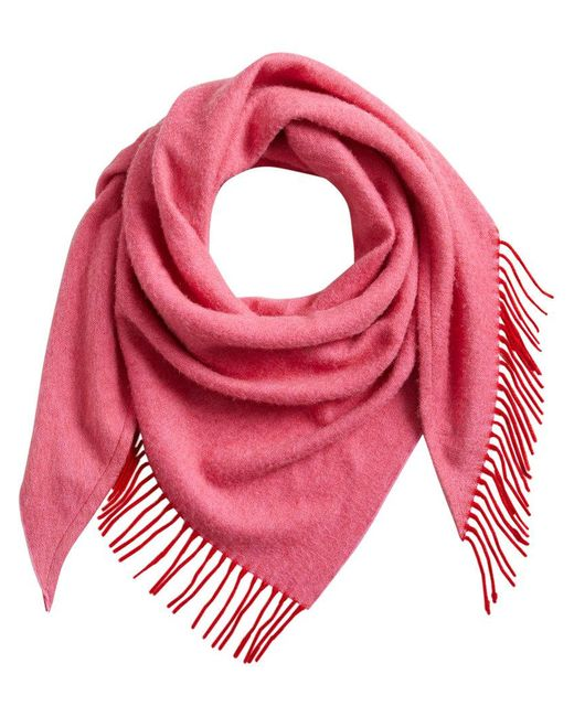Burberry - Red Bandana Scarf - Lyst