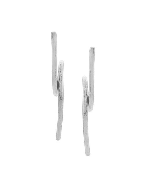 Wouters & Hendrix - Metallic Technofossils Loop Wind Earrings - Lyst
