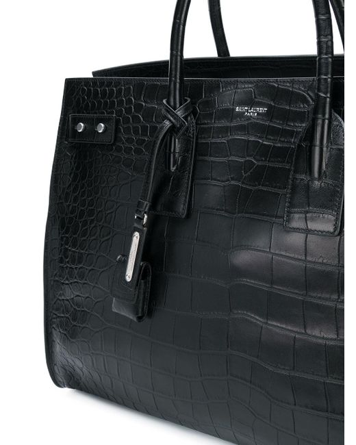 04b08473edb ... Saint Laurent - Black Sac De Jour Tote for Men - Lyst