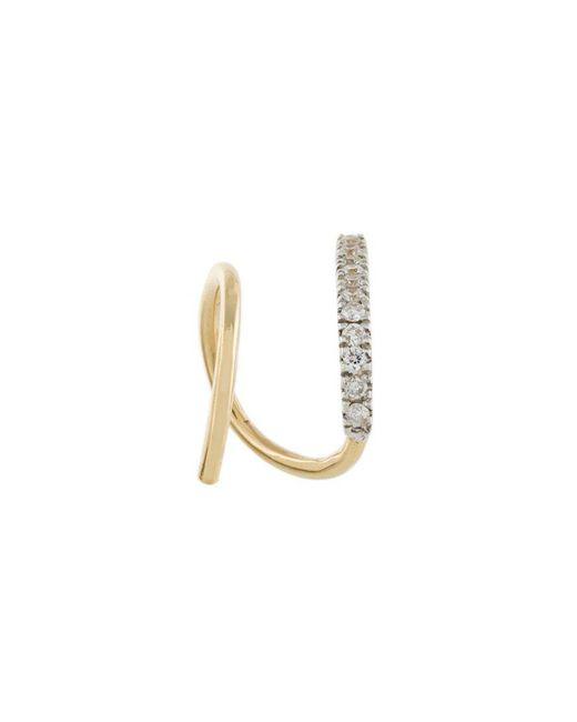 Maria Black Bela Blanc twirl earring - Metallic v6jYFX