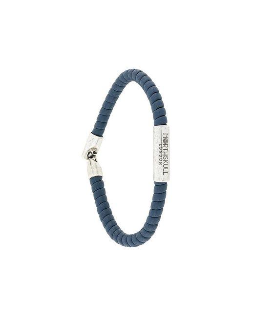Northskull   Blue Rope Bracelet for Men   Lyst