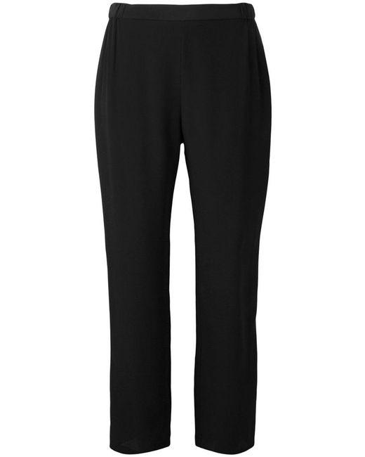 Erika Cavallini Semi Couture - Black Cropped Pants - Lyst