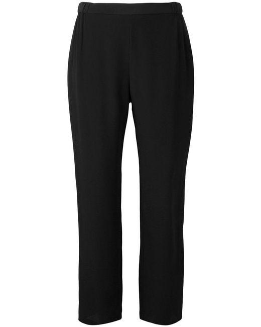 Erika Cavallini Semi Couture | Black Cropped Pants | Lyst