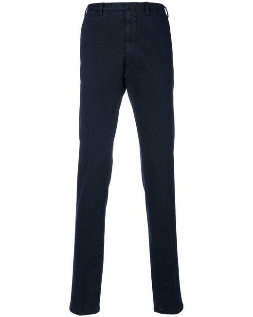 Dell'Oglio - Blue Classic Chinos for Men - Lyst