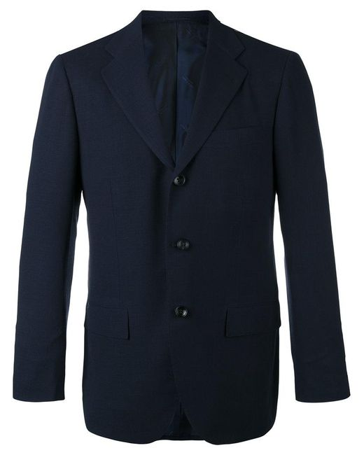 Kiton | Blue Slim-fitting Blazer for Men | Lyst