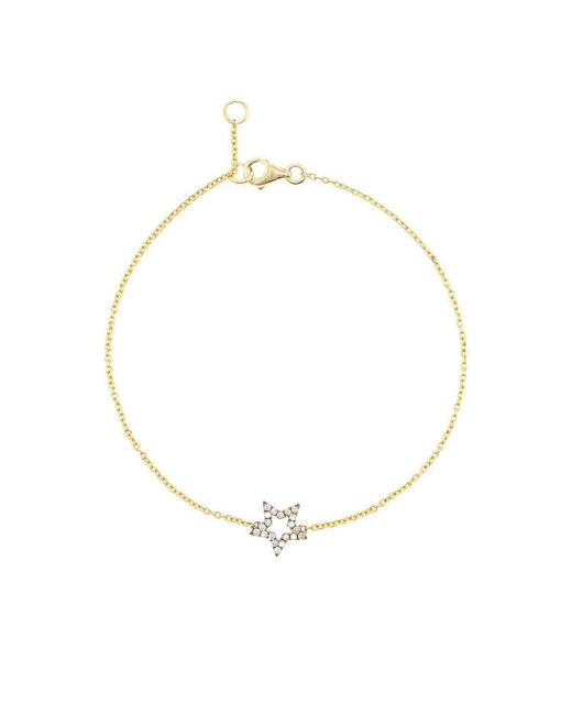Rosa De La Cruz | Metallic Diamond Star Bracelet | Lyst