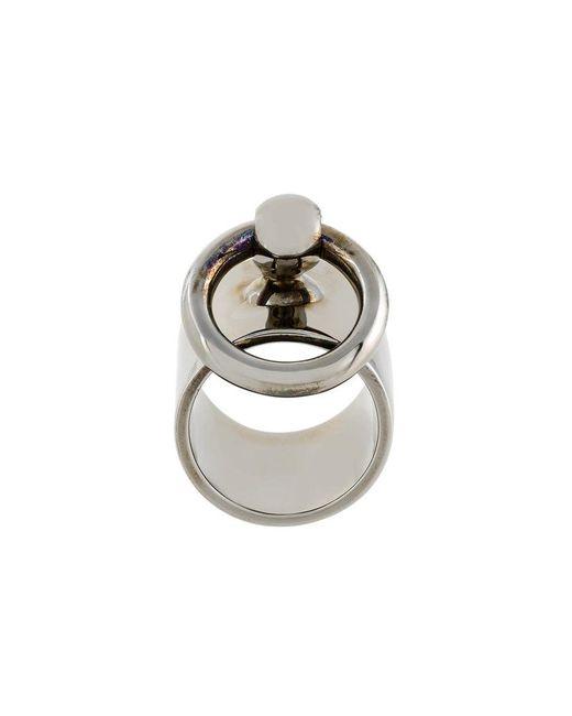 Mawi - Metallic Hermatite Ring - Lyst