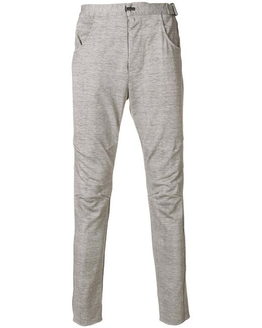 The Viridi-anne - Gray Slim-fit Trousers for Men - Lyst